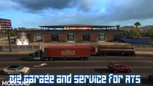 Big Garage and Service for ATS v 1.0, 1 photo