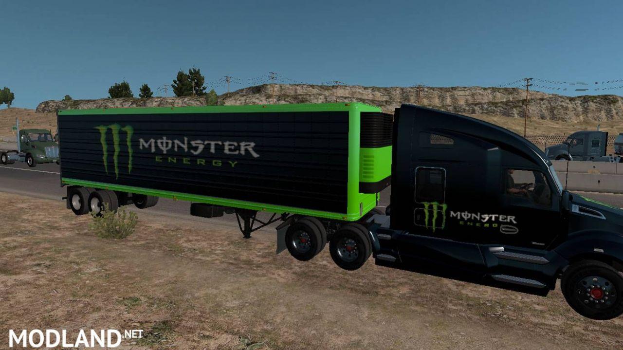 Kenworth T680 Monster Energy Mega Pack