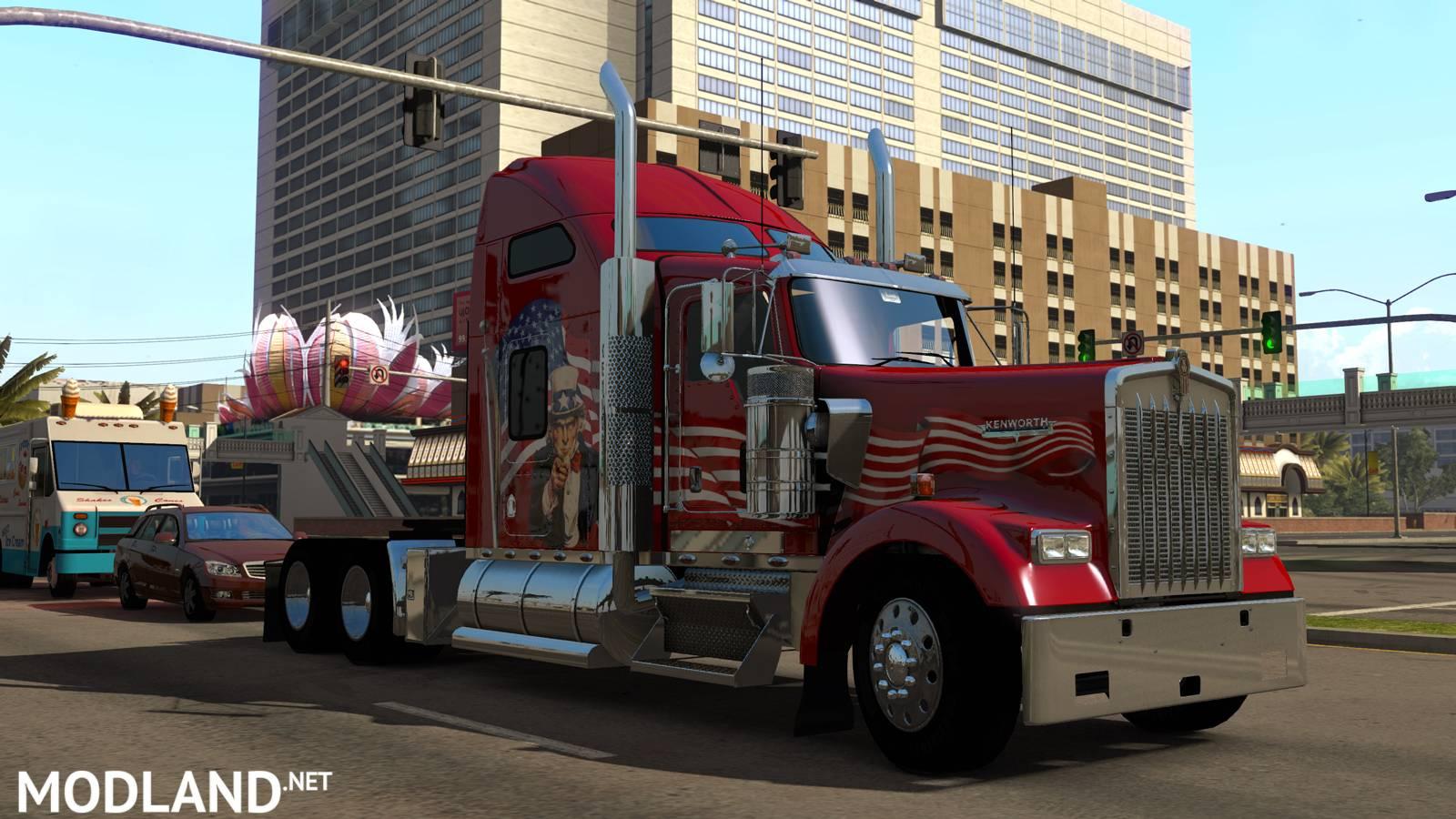 american truck simulator trucks mod for american truck simulator ats. Black Bedroom Furniture Sets. Home Design Ideas