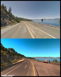 ATS Map vs Real Life, 1 photo