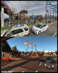 ATS Map vs Real Life, 2 photo