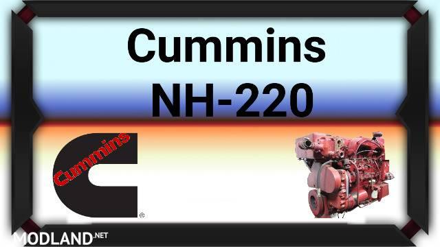 Cummins NH-220 Engine mod for American Truck Simulator, ATS