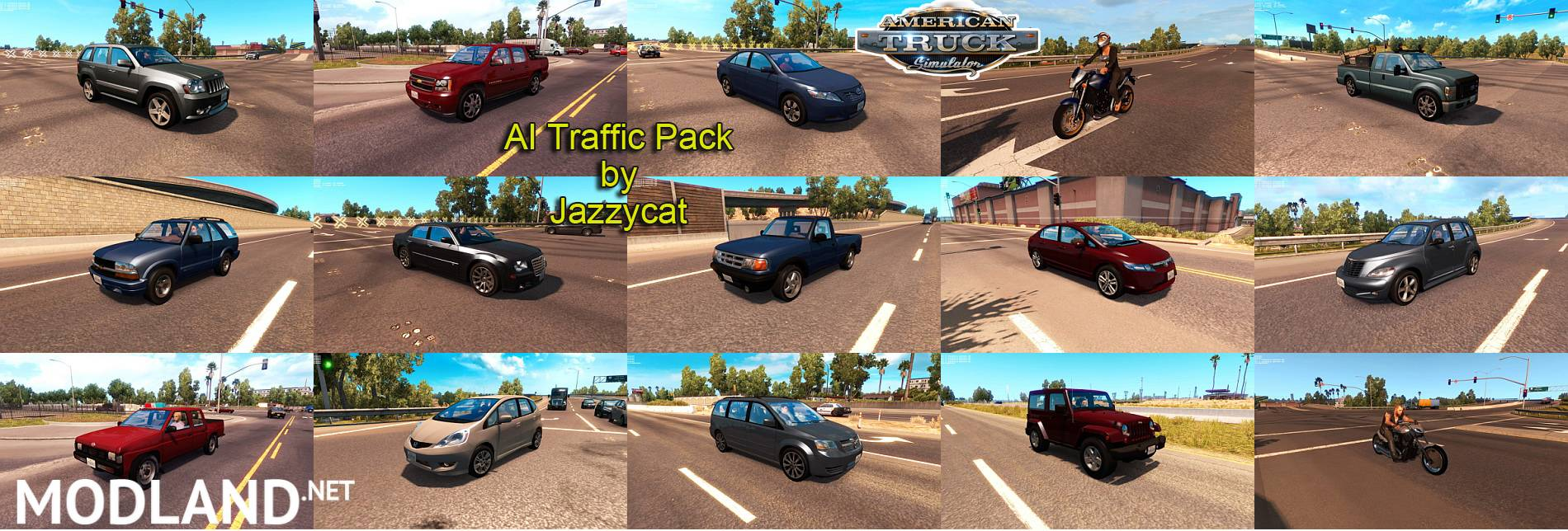 AI Traffic Pack for ATS by Jazzycat v1 0 mod for American
