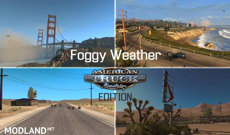 Foggy Weather 1721 ATS EDITION 1