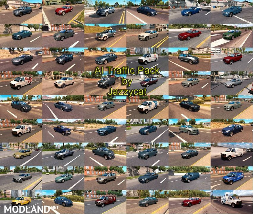 AI Traffic Pack by Jazzycat
