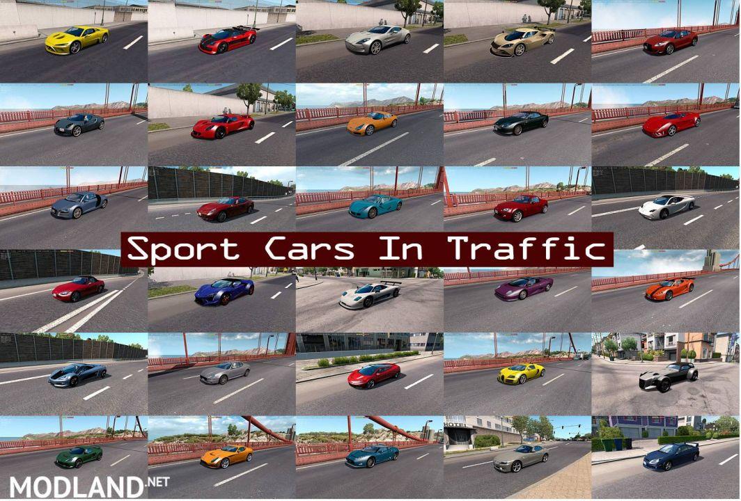 Sport Cars Traffic Pack by TrafficManiac