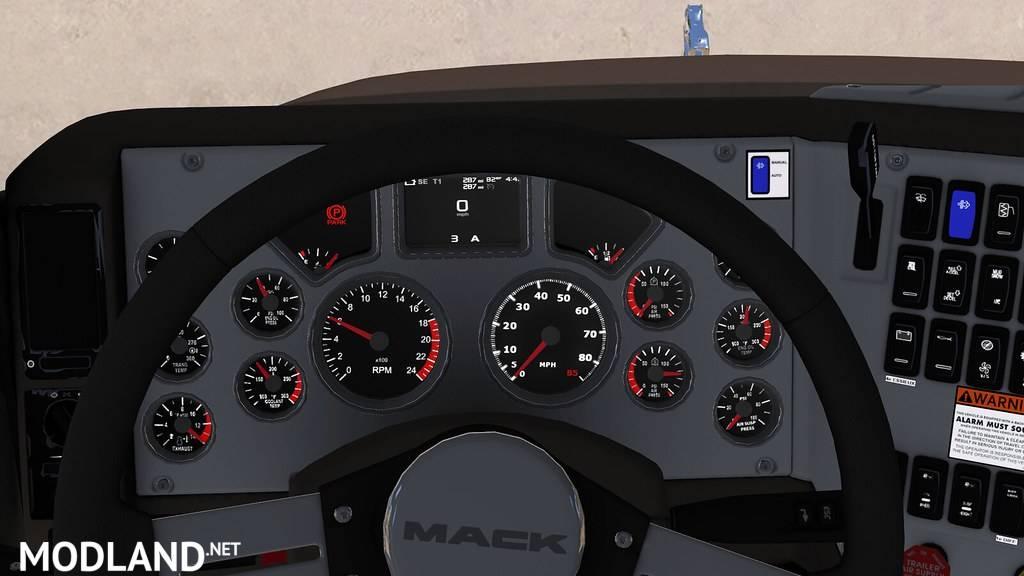 Mack CHU613 Dashboard Tweak