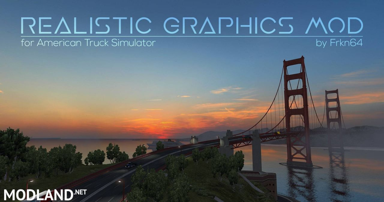 Realistic Graphics Mod v2.1.4 released (1.32)