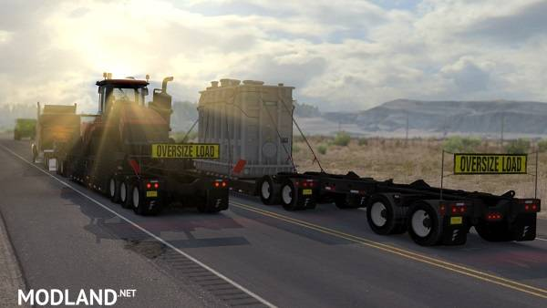 ATS Doubles/Triples/Heavy Trailers in Traffic