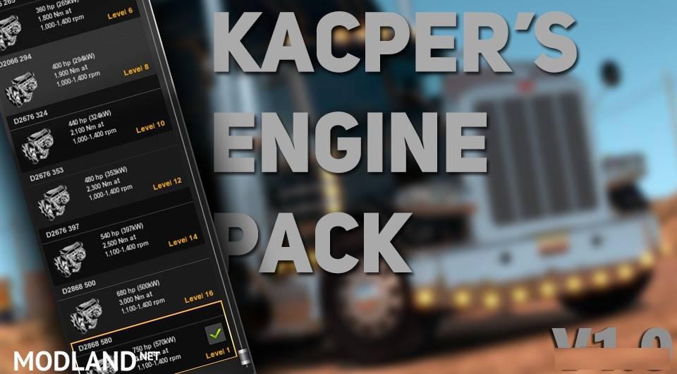 Kacper's Engine Pack v 1.0 – ATS Edition