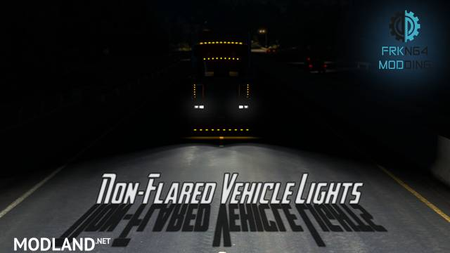 Non-Flared Vehicle Lights