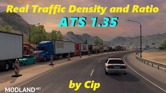 Real Traffic Density and Ratio ATS 1.35.c