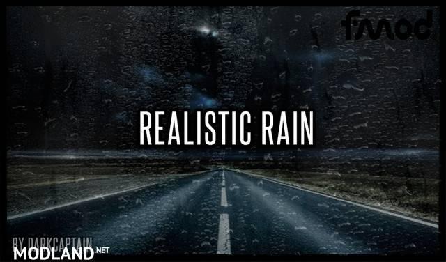 Realistic Rain v 3.7.1 ATS 1.38