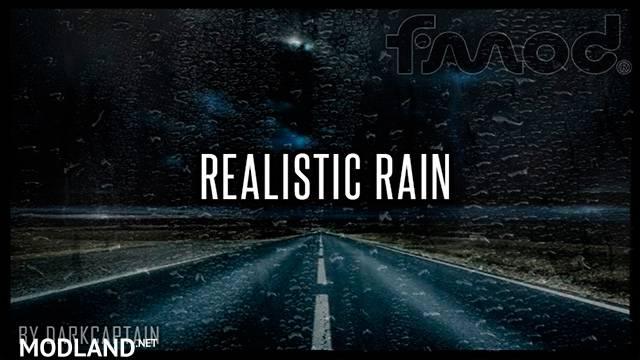 Realistic Rain v3.4 ATS 1.37