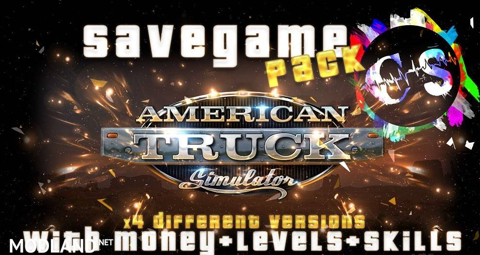 Savegame Pack (Money + Skills + XP)