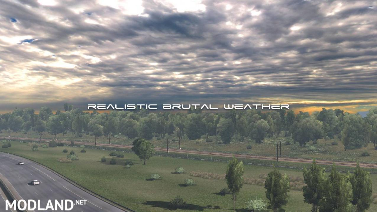 Realistic Brutal Weather V2.5 ATS (1.38)