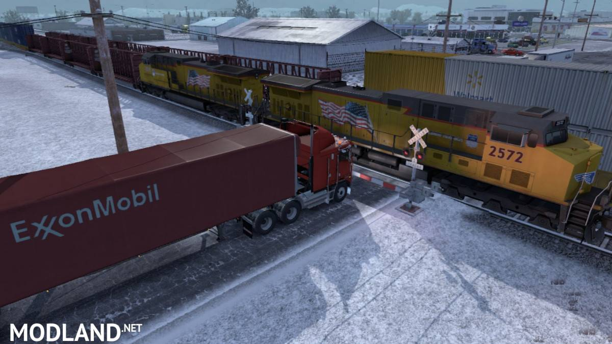 Improved Trains addon for Real Traffic Density by Cip 1.38b