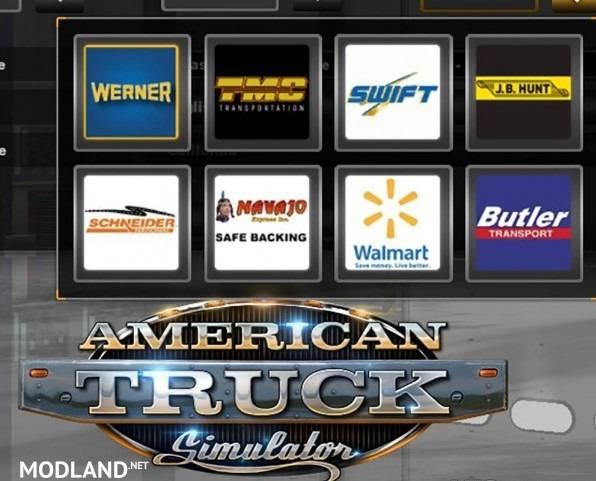 U.S. Companies Logos