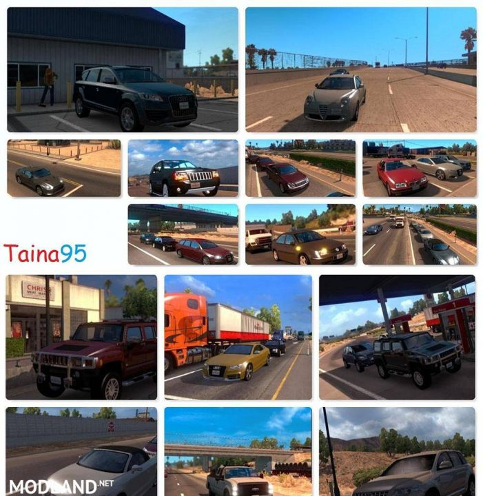 AI Traffic Mod Pack