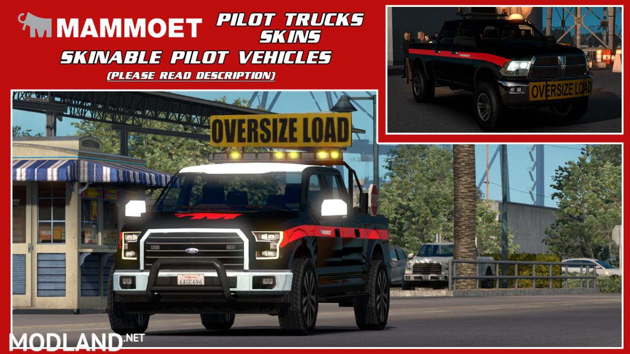 Skinable Pilot Vehicles (Mammoet)