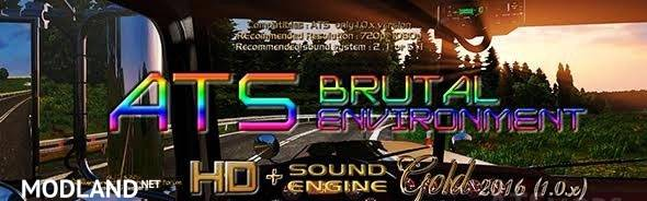 ATS Brutal Environment HD + SOUND engine GOLD 2016 1.1.x