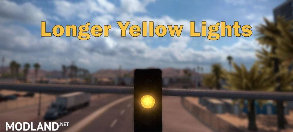 Longer Yellow Lights Mod