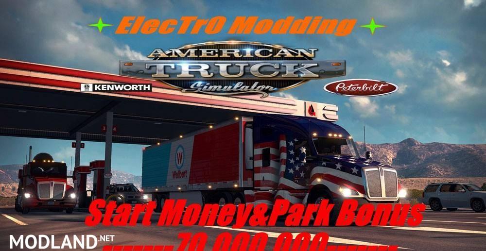 Start Money & Xp Park 70.000.000 by ElecTr0 Modding