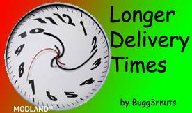 Longer Delivery Times