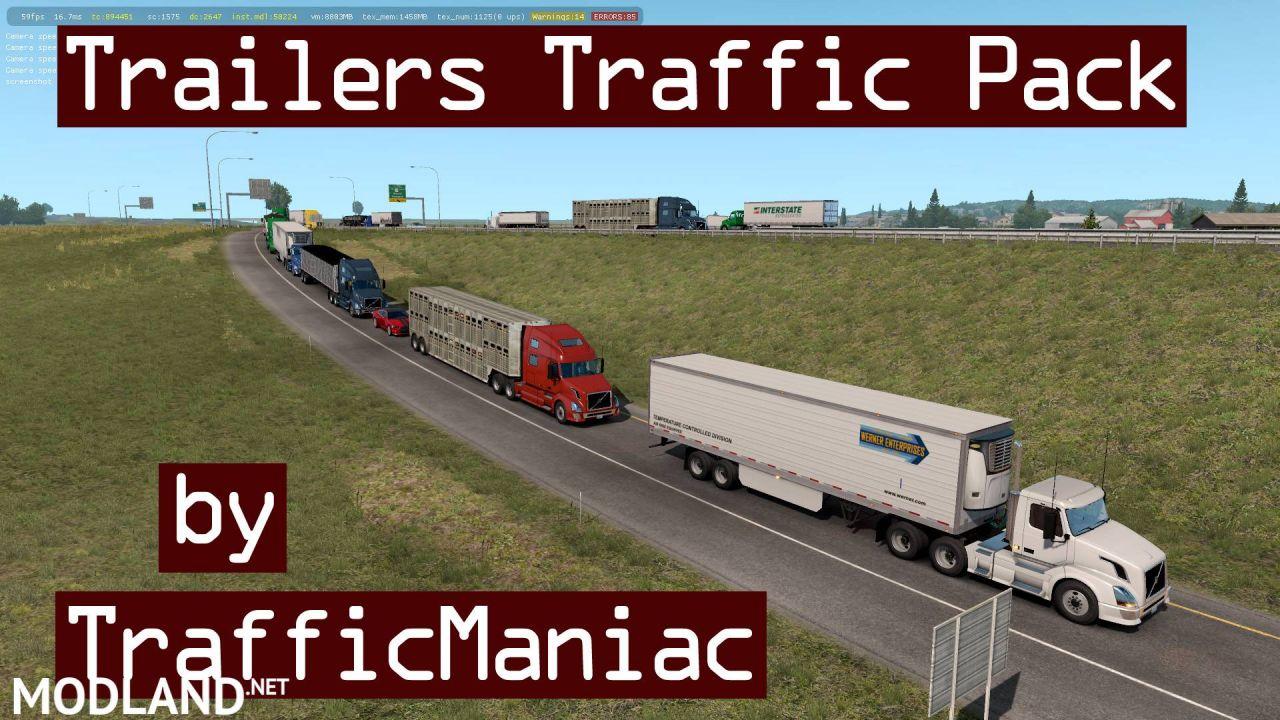 Trailers Traffic Pack by TrafficManiac