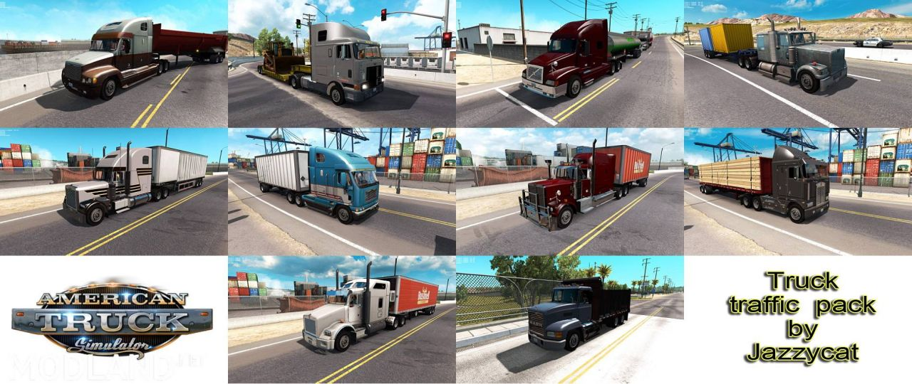 Tuck Traffic Pack by Jazzycat