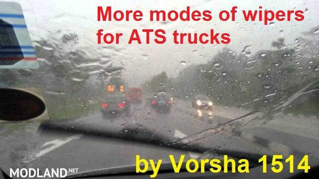 More modes of wipers for trucks