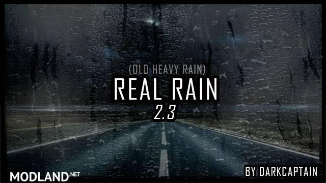 REAL RAIN v2.3 1.34, 1.35