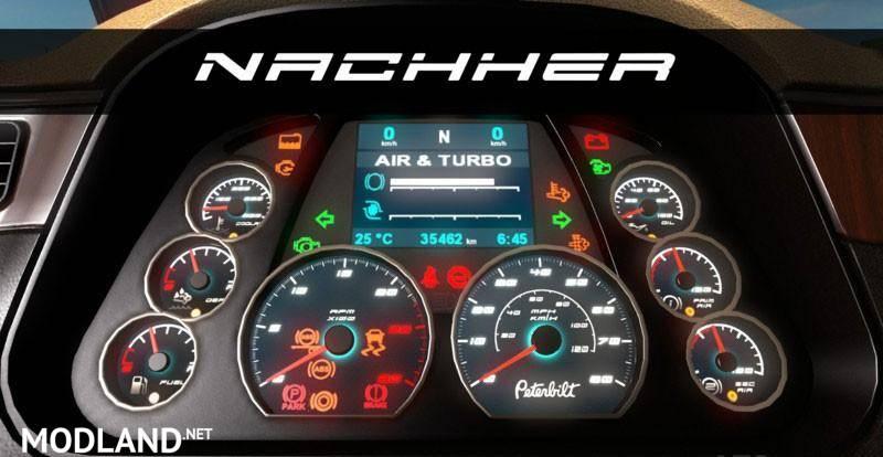 Peterbilt 579 Tuning Dashboard Mod For American Truck