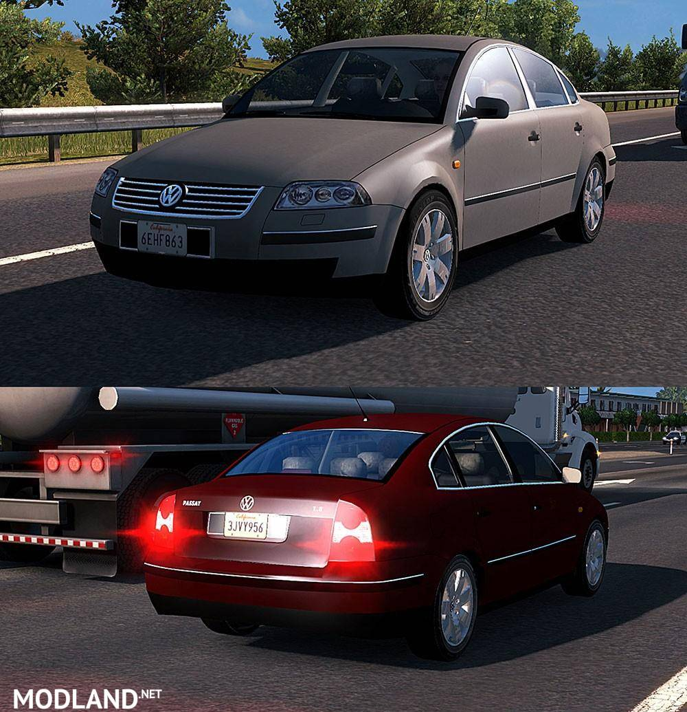 Cars: Standalone 4 New AI Cars Pack Mod For American Truck