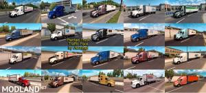 Painted Truck and Trailers Traffic Pack by Jazzycat v 1.4, 2 photo