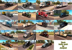 Truck Traffic Pack by Jazzycat v2.4