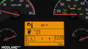 Realistic Volvo VNL Dashboard Computer v 1.0 [1.32.x-1.35.x], 2 photo