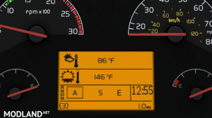 Realistic Volvo VNL Dashboard Computer v 1.0 [1.32.x-1.35.x], 3 photo