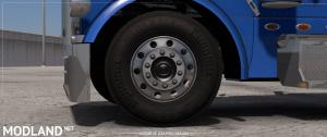Dark Textures for Stock Truck & Owned Trailers Tires, 1 photo