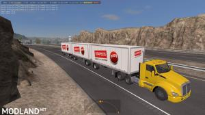 Double and Triple Trailers in Traffic ATS 1.34.x, 2 photo