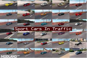 Sport Cars Traffic Pack (ATS) by TrafficManiac v6.2, 1 photo