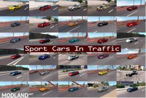 Sport Cars Traffic Pack (ATS) by TrafficManiac v6.3, 2 photo