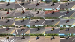 Motorcycle Traffic Pack (ATS) by Jazzycat v3.2, 2 photo
