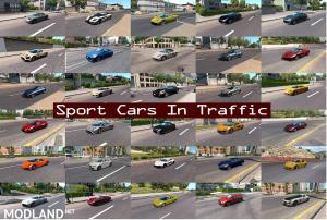 Sport Cars Traffic Pack (ATS) by TrafficManiac v4.5, 2 photo