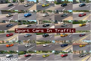 Sport Cars Traffic Pack (ATS) by TrafficManiac v4.9, 2 photo