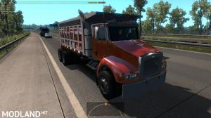 Benson V8 dump truck from GTA4 in traffic ATS 1.35, 1 photo