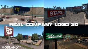 Real Company Logo 3D v 1.5