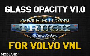 Glass Opacity for Volvo VNL (ATS)