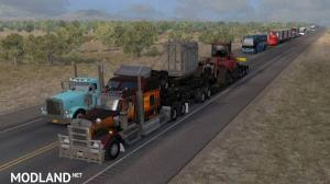 ATS Doubles/Triples/Heavy Trailers in Traffic, 2 photo