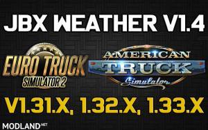 JBX Weather for ATS - ETS2 v1.4, 1 photo